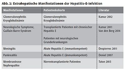 Hepatitis E Infektionskrankheiten Die Leber